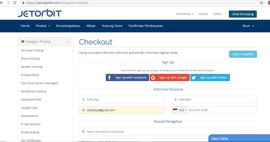 mengisi-form-pembayaran-domain